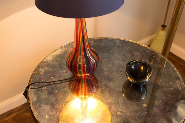 Table Lamp by Barovier & Toso, Italy, circa 1950 In Excellent Condition For Sale In Munich, DE