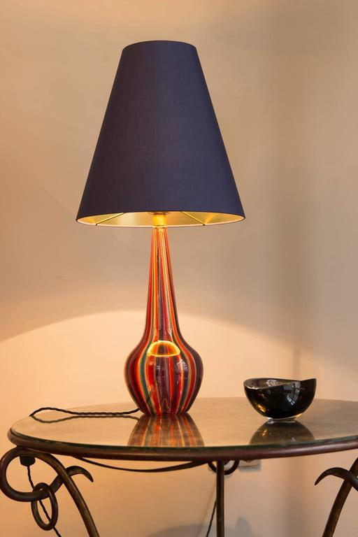 Table Lamp by Barovier & Toso, Italy, circa 1950 For Sale 3