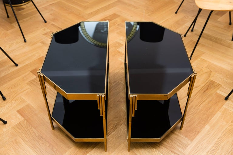Pair of Occasional Tables by Luciano Frigerio, Model Achille, Italy, 1970s 3