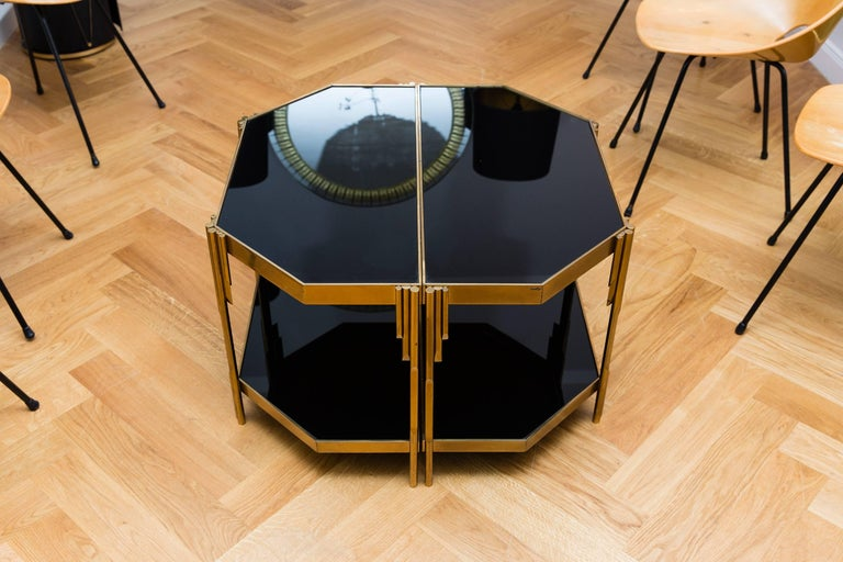 Pair of Occasional Tables by Luciano Frigerio, Model Achille, Italy, 1970s 4