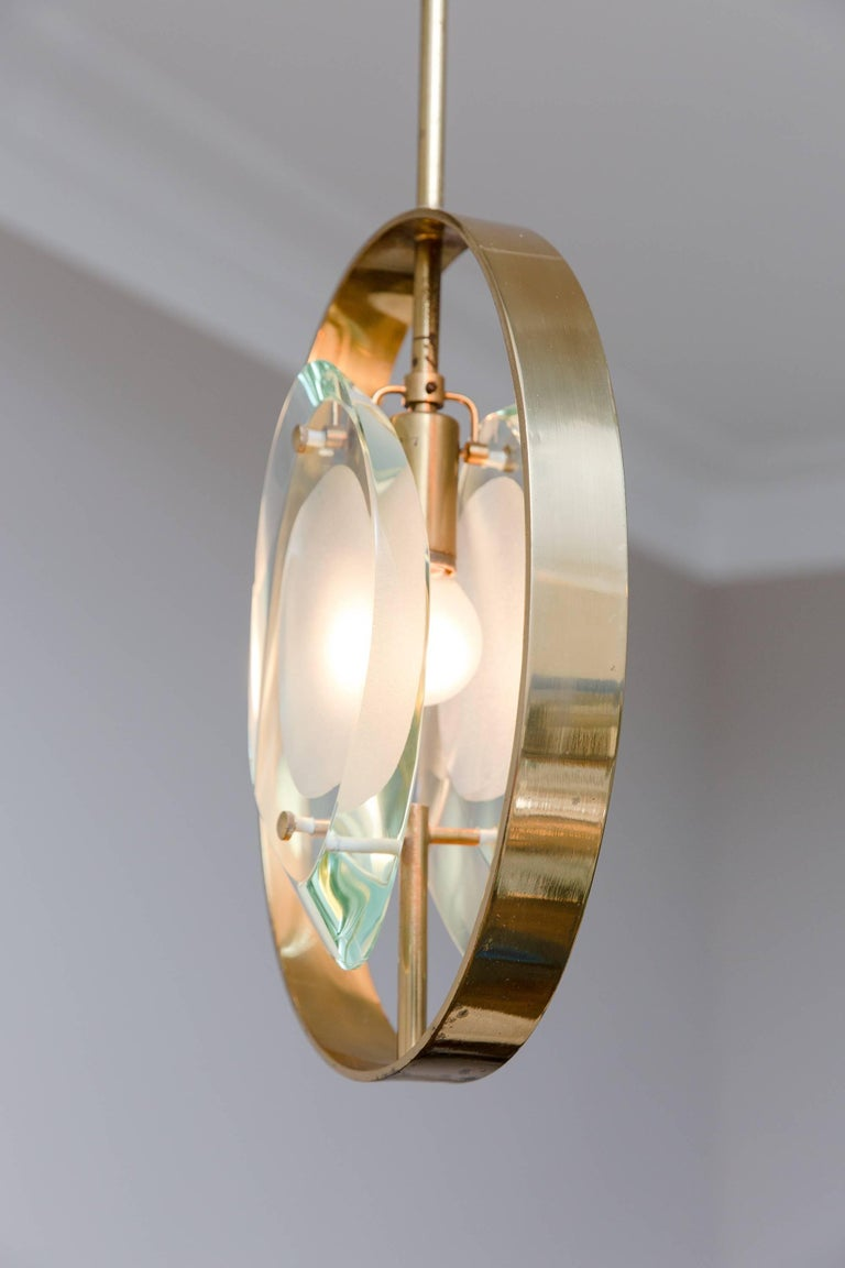 Pendant Ceiling Lamp by Max Ingrand, Model 1933, Prod. Fontana Arte 1961 6