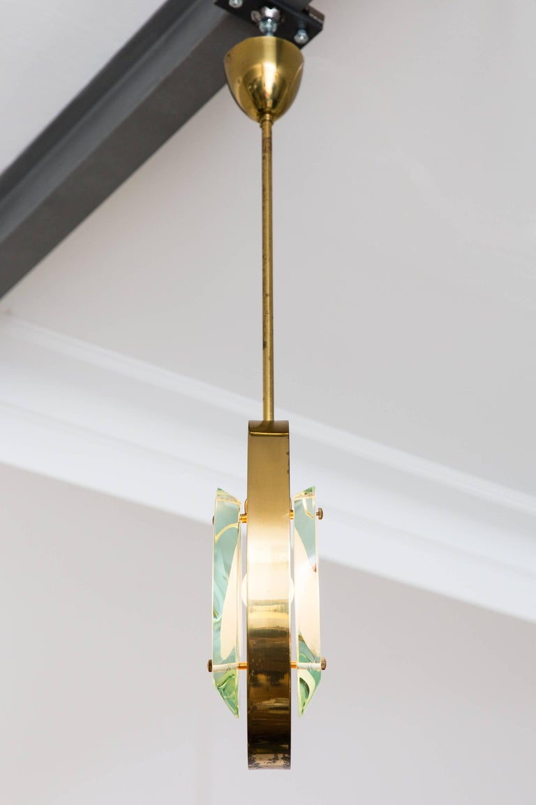 Pendant Ceiling Lamp by Max Ingrand, Model 1933, Prod. Fontana Arte 1961 8