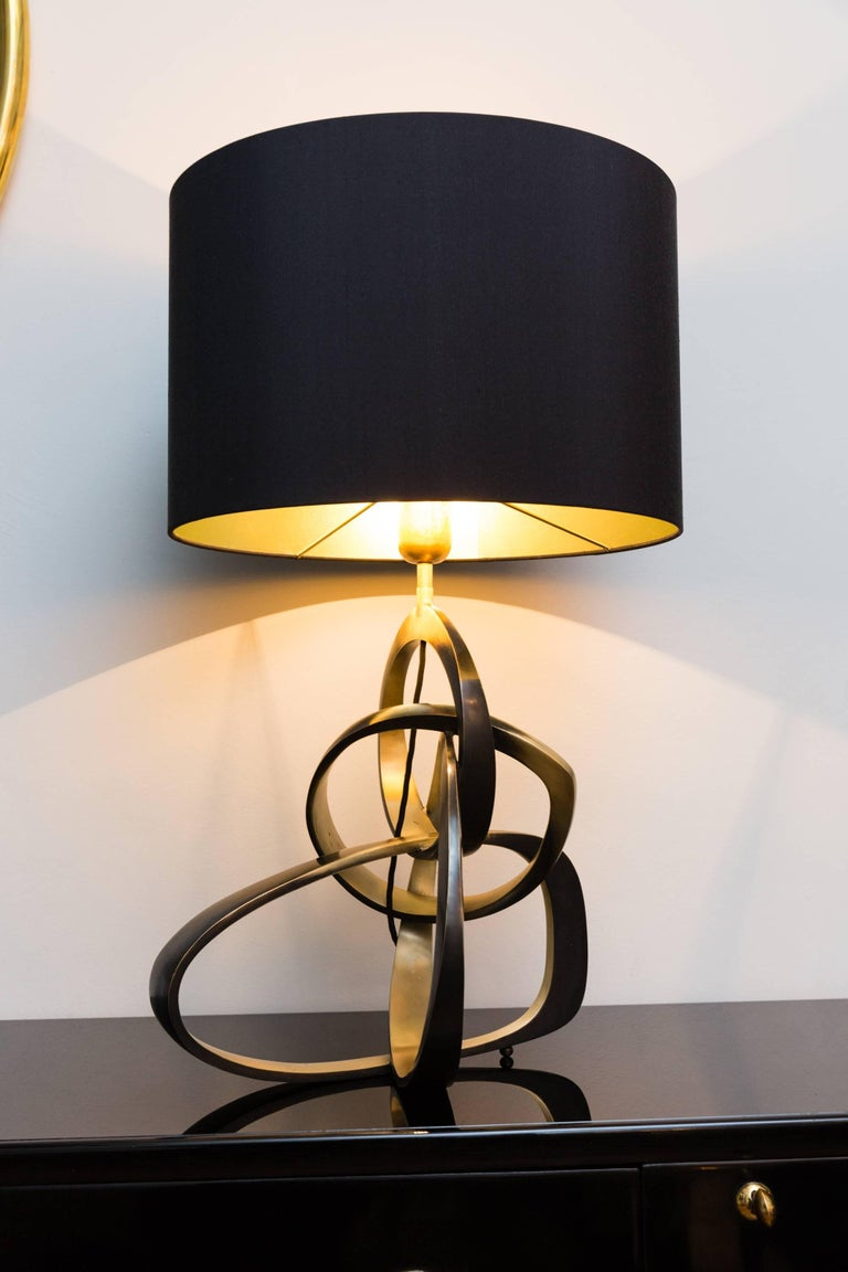 "Table Lamp ""Rings"" Limited Edition, Germany, 2017 In Excellent Condition For Sale In Munich, DE"