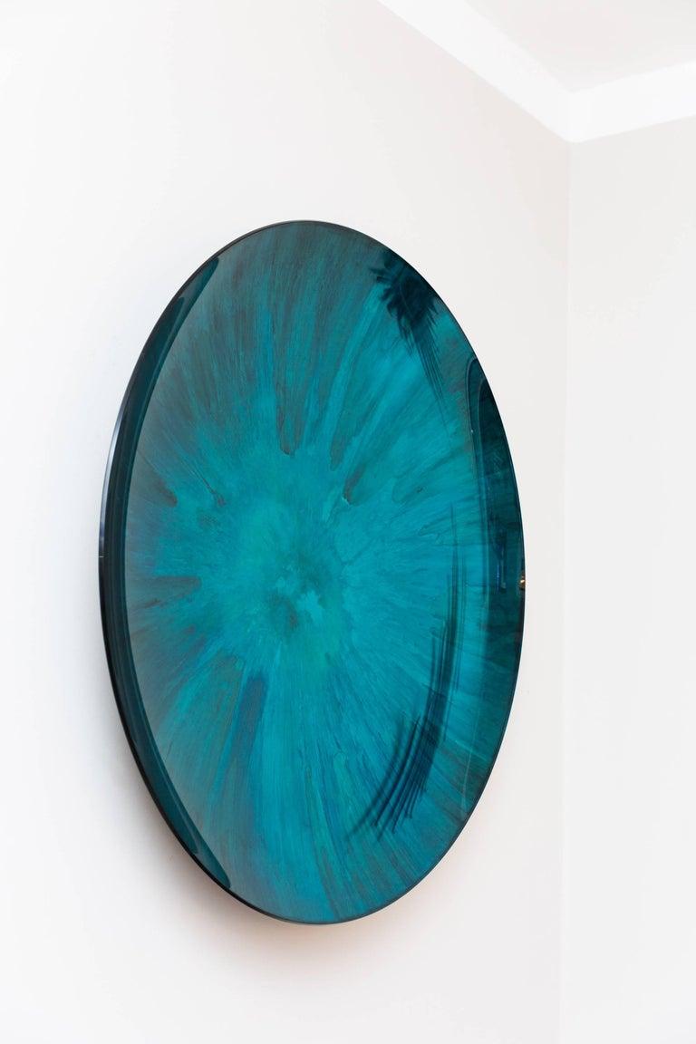 Concave Mirror Object by Christophe Gaignon, France 2017, diameter 87 cm For Sale 1