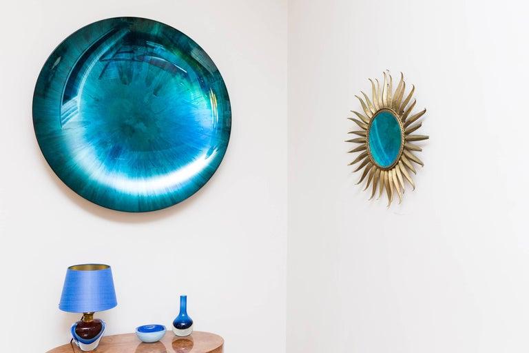 Concave Mirror Object by Christophe Gaignon, France 2017, diameter 87 cm For Sale 2