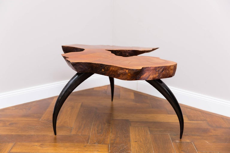 Polished Unique Coffee Table by Jaro Komon, Germany, 2015 For Sale