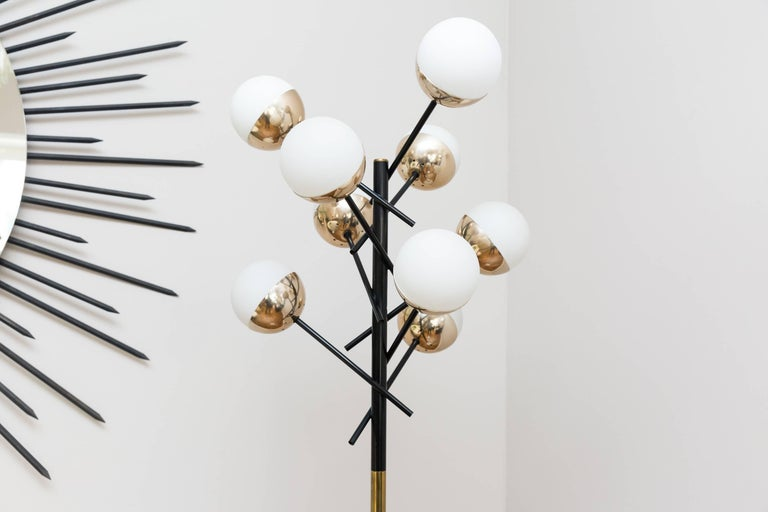 Italian Floor Lamp by Stilnovo, Italy, circa 1955 For Sale