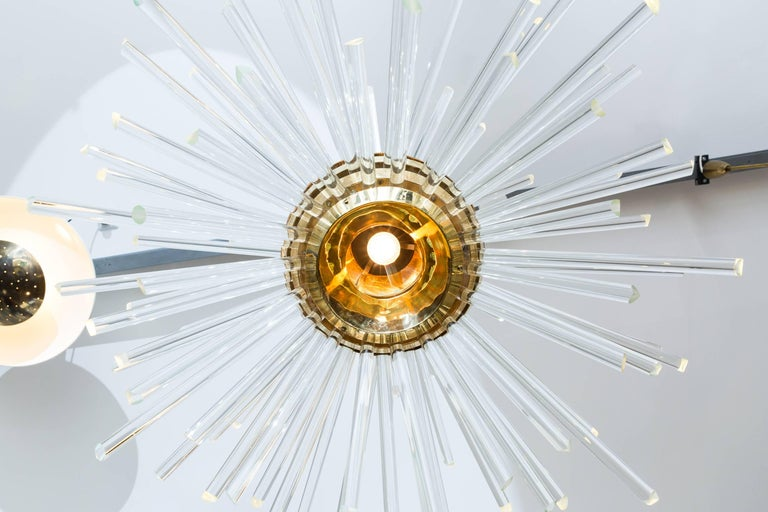 Big Miracle Chandelier by Bakalowits & Söhne, Vienna Austria, circa 1960 For Sale 1