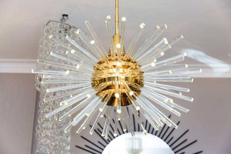 Big Miracle Chandelier by Bakalowits & Söhne, Vienna Austria, circa 1960 For Sale 2