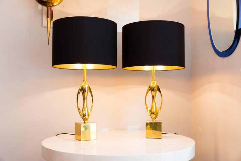 Pair of Table Lamps by Maison Charles, France, circa 1970 6