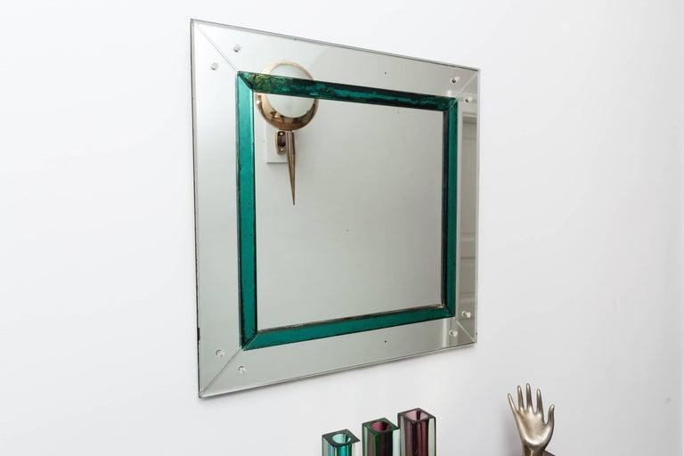 Murano Glass Mirror, Italy, circa 1950 3