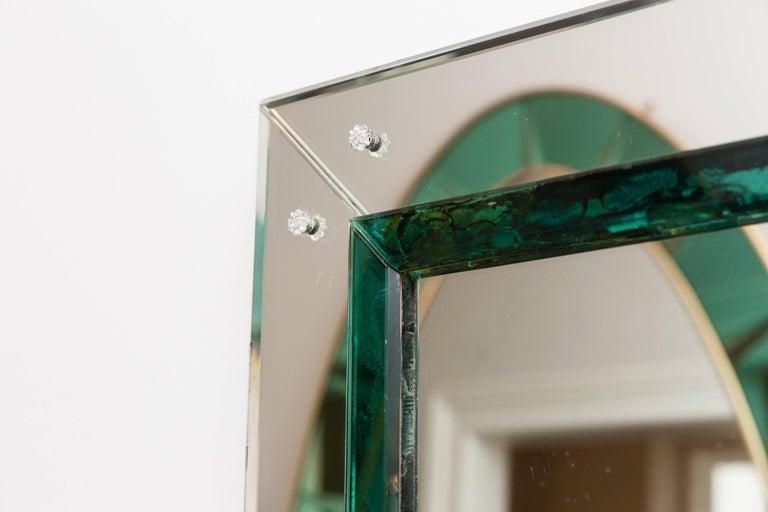 Murano Glass Mirror, Italy, circa 1950 5