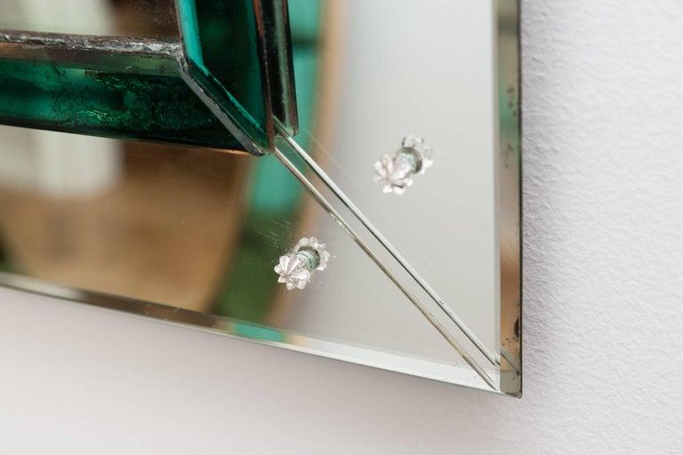 Murano Glass Mirror, Italy, circa 1950 6