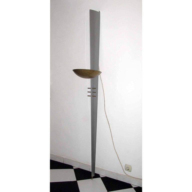 Small White Wall Lights : Very Large Pair of Wall Sconces by Philips For Sale at 1stdibs