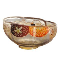 Emile Galle Souffle Bowl