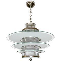 Art Deco Ceiling Light by Atelier Petitot