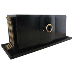 Very Rare Iconic Sideboard by Jean Pascaud