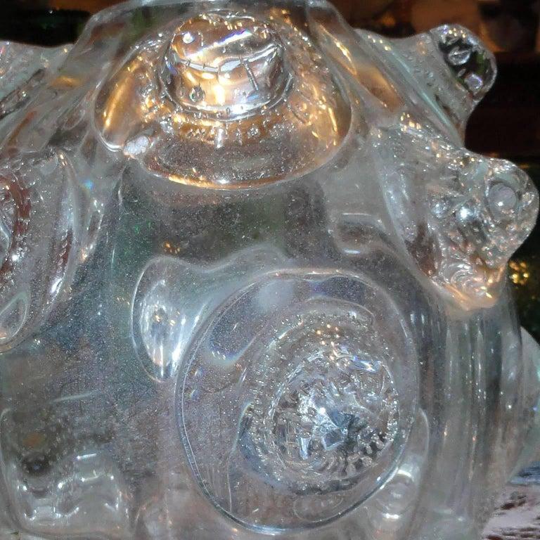 Ercole Barovier Large Massive Vase a Mugnoni For Sale 4