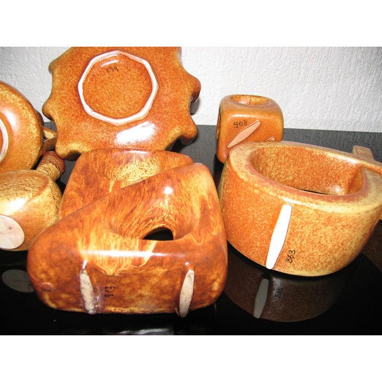Midcentury Bertoncello Italian Ceramic Vases For Sale 10