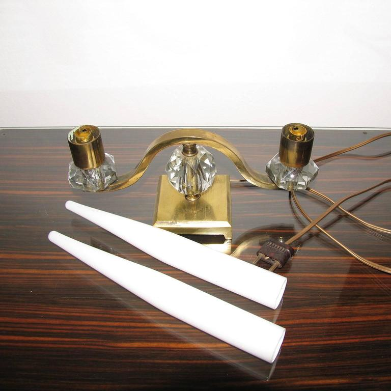 Rare Art Deco Table Lamp in the Style of Edmond Etling 7