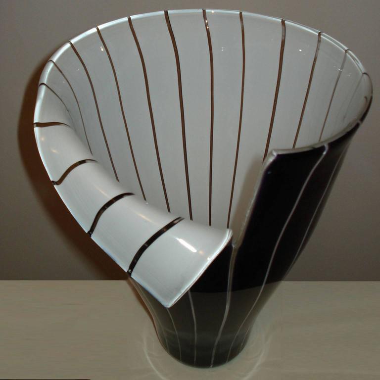 Modern Murano Glass Vase