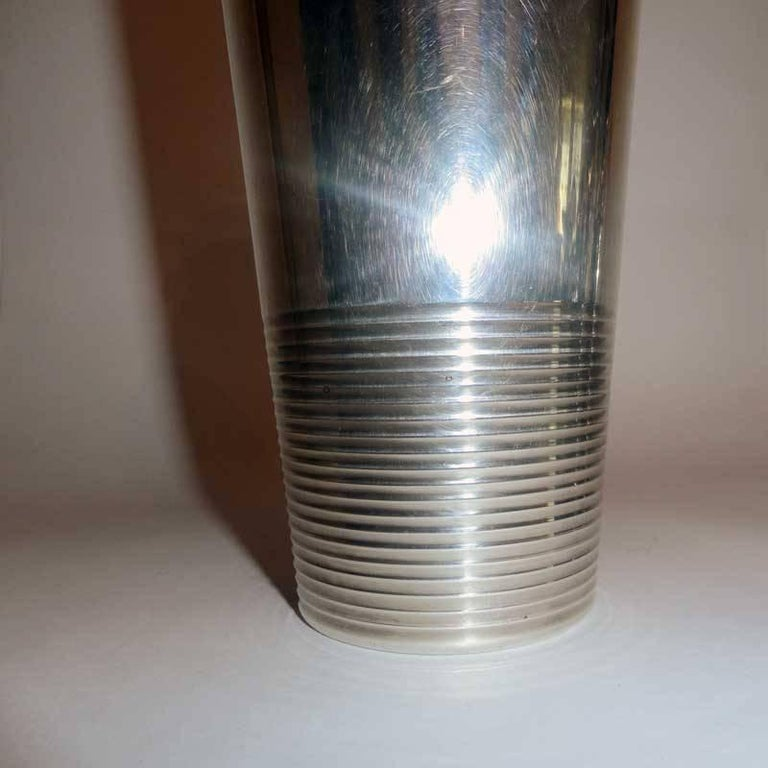 Art Deco Cocktail Shaker by Christofle Gallia For Sale 1