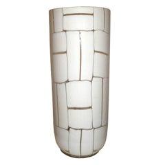 Ercole Barovier Tessere Vase, Barovier & Toso, Murano, 1950s