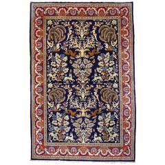 Persian Vintage Qum Rug