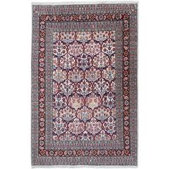 Vintage Turkish Hereke Rug