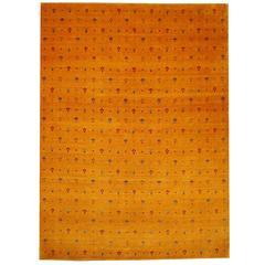 Hand-Knotted Baharlu Design Rug