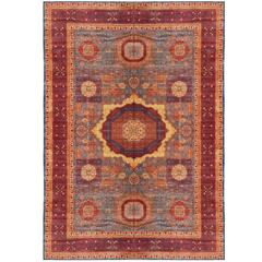 Very Large Mamluk Hand-Knotted Rug