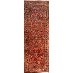 Persian Sarouk Antique Rug Runner