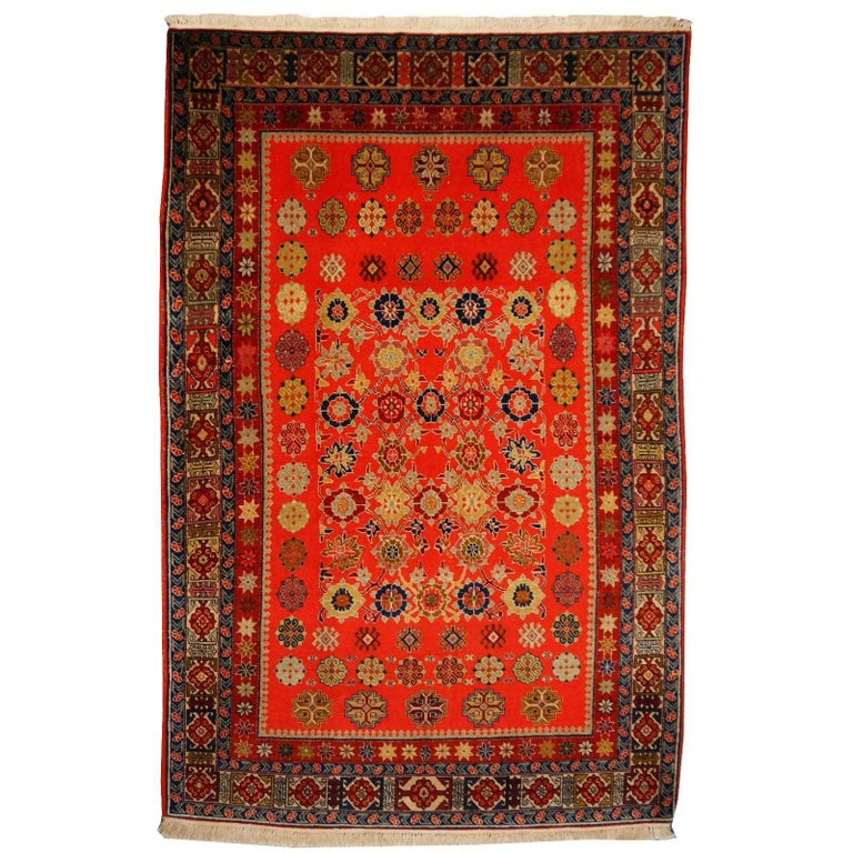 Shirvan Caucasian Vintage Carpet