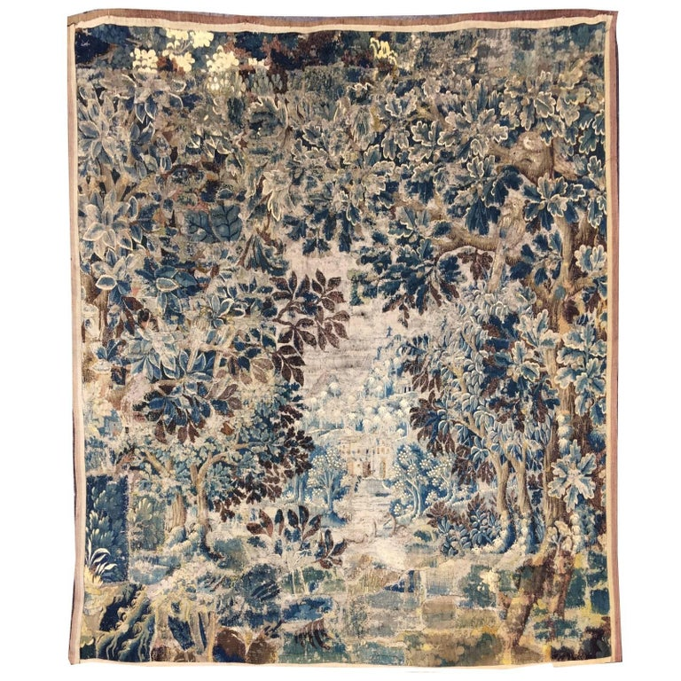 Mid-18th Century Antique French Gobelin Tapestry