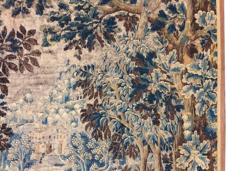Mid-18th Century Antique French Gobelin Tapestry For Sale 1