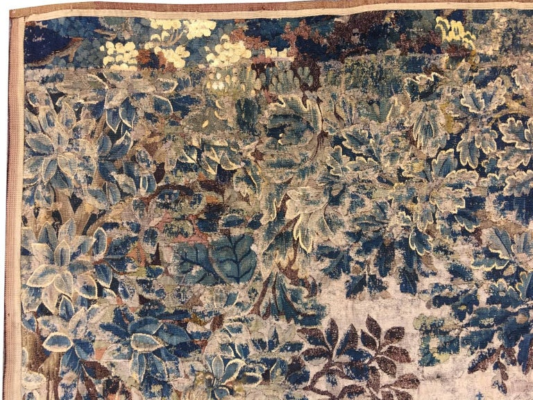 Mid-18th Century Antique French Gobelin Tapestry For Sale 2