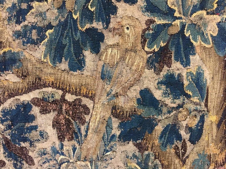 Mid-18th Century Antique French Gobelin Tapestry For Sale 4