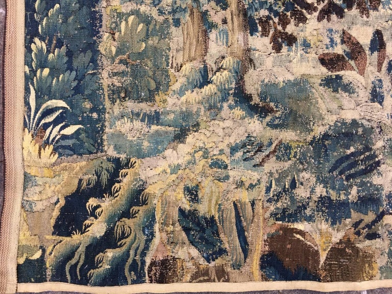 Mid-18th Century Antique French Gobelin Tapestry For Sale 7