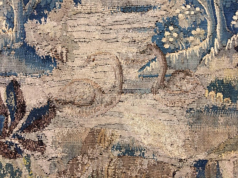 Mid-18th Century Antique French Gobelin Tapestry For Sale 8