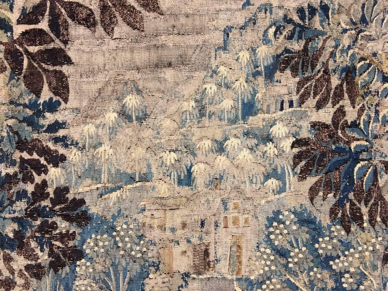Mid-18th Century Antique French Gobelin Tapestry For Sale 9