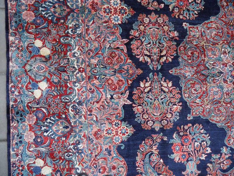 20th Century Antique Oversize Sarouk Oriental Rug For Sale