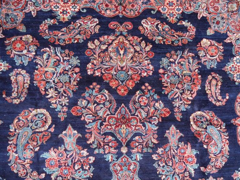 Antique Oversize Sarouk Oriental Rug For Sale 3