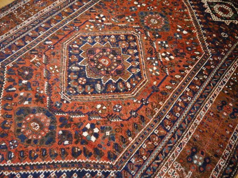 Antique Tribal Nomadic Carpet Large Size In Good Condition For Sale In Lohr, Bavaria, DE