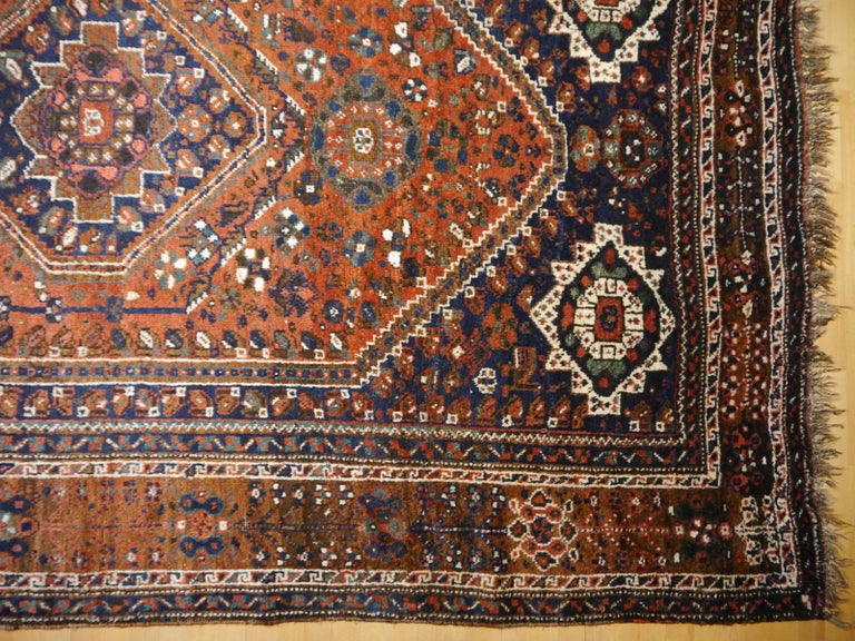 Antique Tribal Nomadic Carpet Large Size For Sale 1