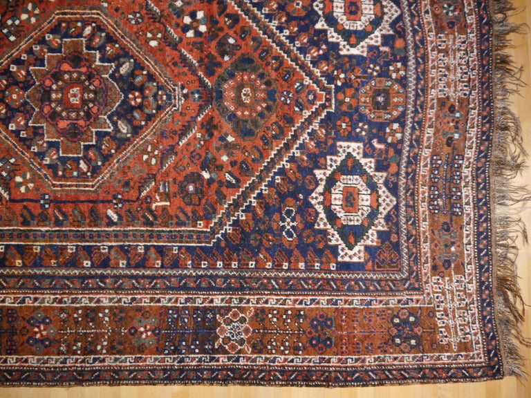 Antique Tribal Nomadic Carpet Large Size For Sale 2