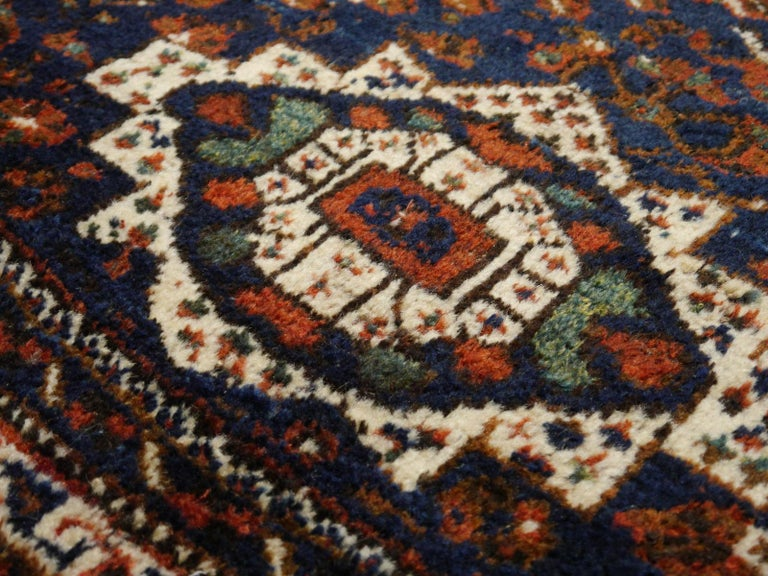 Antique Tribal Nomadic Carpet Large Size For Sale 3
