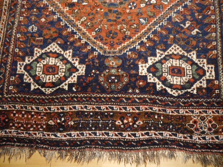 Antique Tribal Nomadic Carpet Large Size For Sale 4