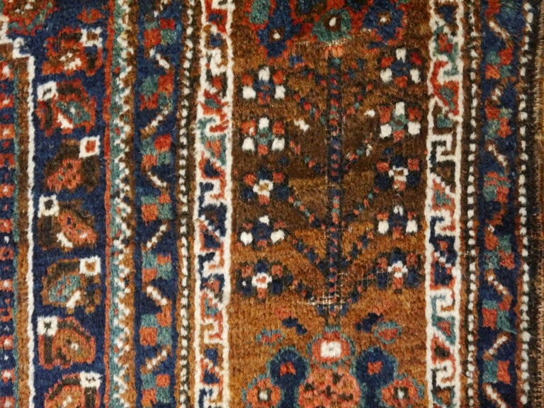 Antique Tribal Nomadic Carpet Large Size For Sale 5