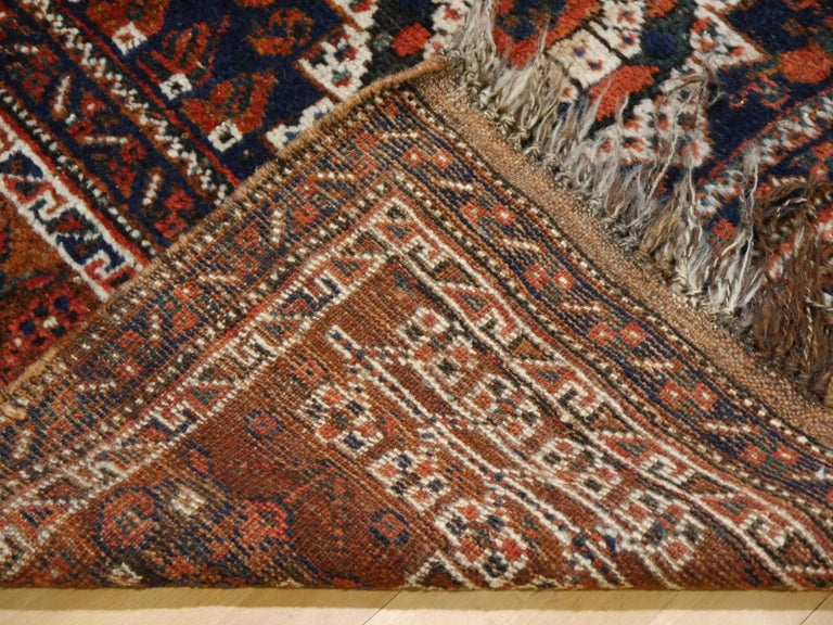 Antique Tribal Nomadic Carpet Large Size For Sale 6