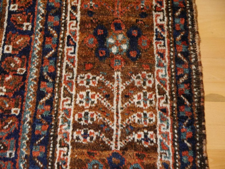 Antique Tribal Nomadic Carpet Large Size For Sale 9